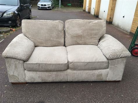 cream sofa bed  london delivery  clapham junction