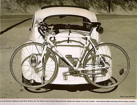 vw bike rack vintage vw beetle with bike rack it s a bug thing you