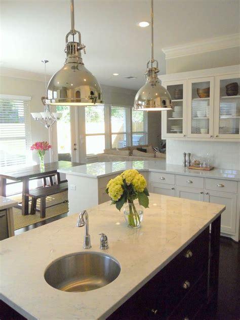 gorgeous kitchen design  industrial yoke polished