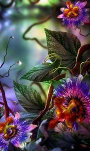 3D Flowers Wallpapers - Wallpaper Cave