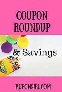 Coupon Roundup And Gr8 Savings 4 U