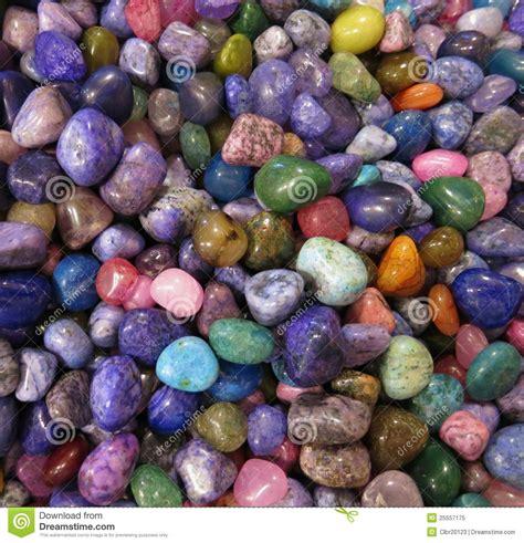 colorful rocks colorful rocks stock image image of pebbles brown