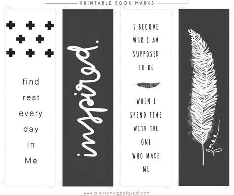 inspirational bookmarks  print printable  degree