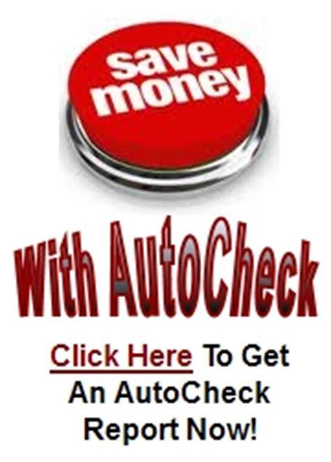 autocheck  carfax  vehicle history report comparison