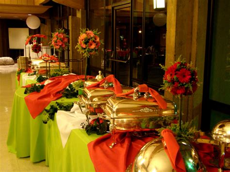 holiday buffet table decorations myideasbedroom com