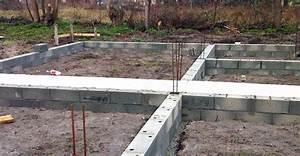 les etapes d39un chantier acobat With soubassement d une maison
