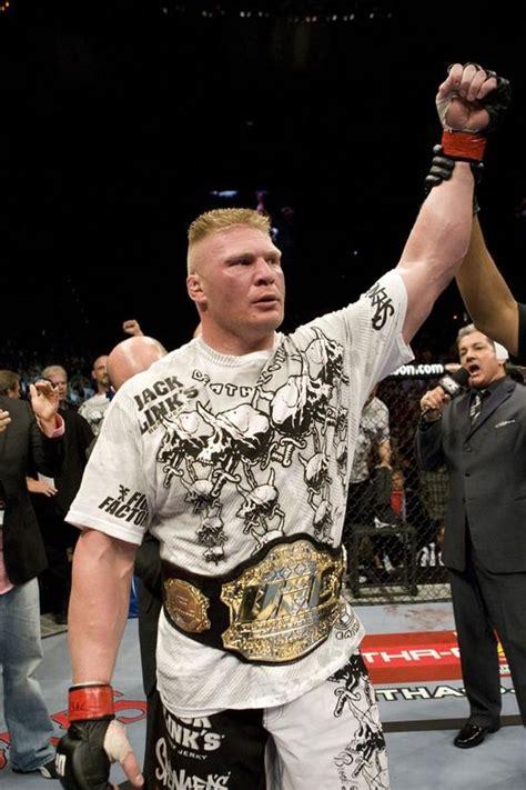 wwe wrestling champions brock lesnar ufc champion