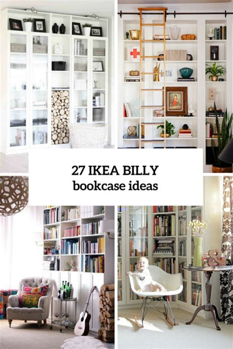 Ikea Billy Ideen 37 awesome ikea billy bookcases ideas for your home digsdigs