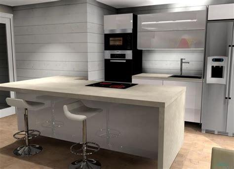 foto cocina abierta encimera neolith beton de decomad