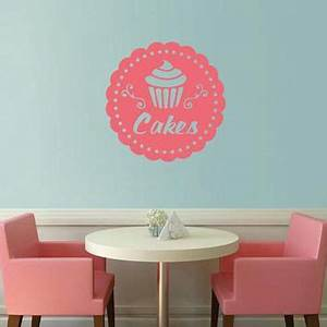 best cupcake decal products on wanelo With beautiful cupcake wall decals