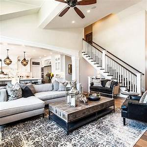 25 best ideas about living room neutral on pinterest for Ideas to separate a sectional sofa