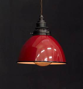 Es dome shade pendant vintage lighting