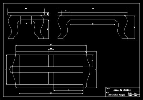 coffee table dwg block  autocad designs cad