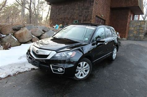 automobile air conditioning service 2010 acura rdx interior lighting find new 2010 acura rdx sh awd turbo techno navigation black leather salvage flood in
