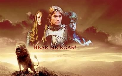 Lannister Thrones Cersei Roar Hear Tronos Juego