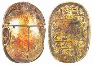 Ancient Art  U2014 Ancient Egyptian Brown Scarab 1070