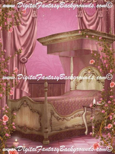 romantic rooms digital fantasy backgrounds