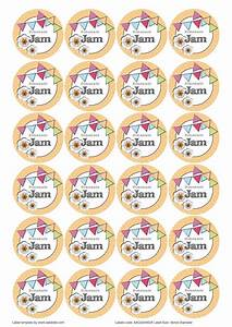 the great british summer jam jar labels designs aa With jam lid labels