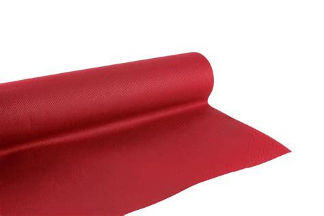 nappe en papier jetable non tiss 233 1 20 m x 25 m bordeaux jetable fournimag