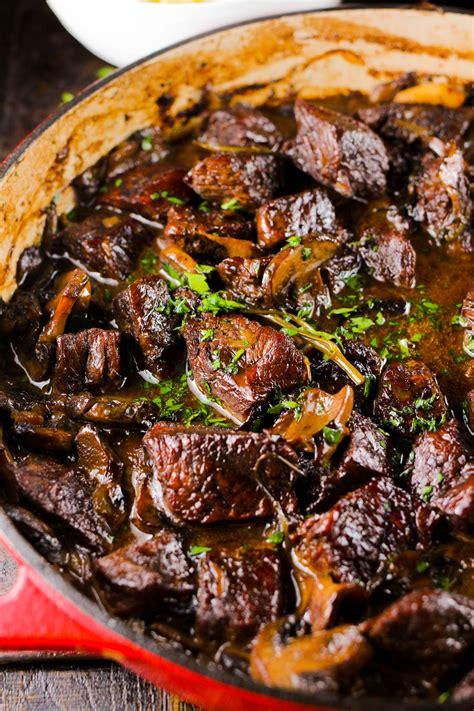 wild mushroom  beef stew girl   kitchen