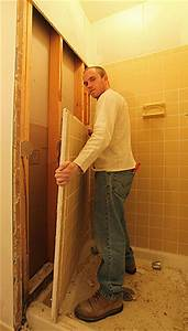 Diy bathroom remodeling tips guide help do it yourself for Removing tile from walls in bathroom