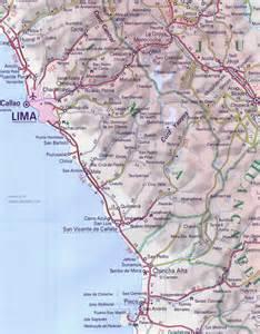 Lima-Peru Map