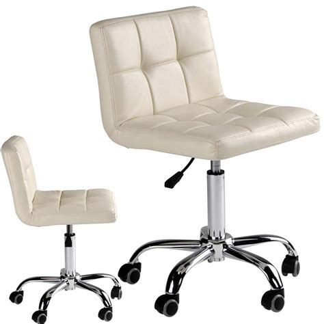 eurostyle nail technician chair soft ivory color model