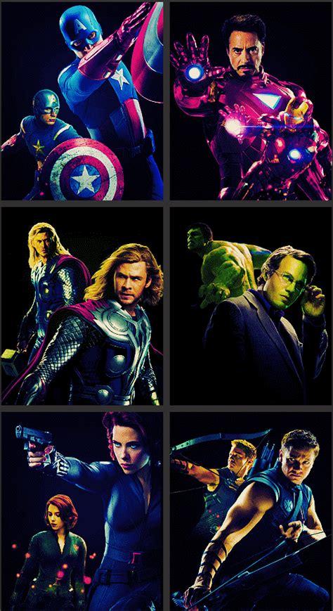 Captain America Iron Man Thor The Hulk Black Widow