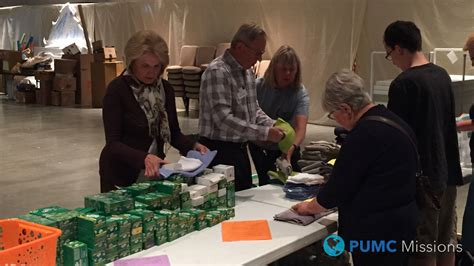 200 umcor relief kits assembled united 810 | UMCOR Relief Kits PUMC Missions 201602