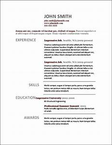 Modern resume templates free samples examples format for Contemporary resume samples