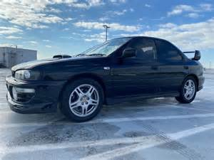 1994 Subaru Impreza Wrx Ej20g 5 Speed 4 Door 4wd Black