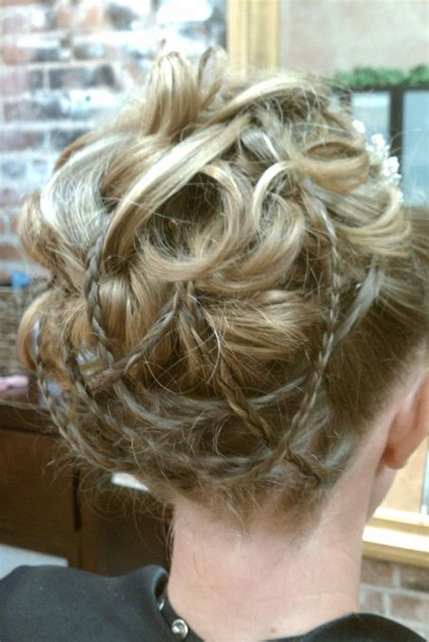 Updo Hairstyles For Prom 2014 by 10 Braided Updo Hairstyles For 2014 Delicate Braided