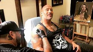 Dwayne Johnson Shares Story Behind His Updated Arm Tattoo