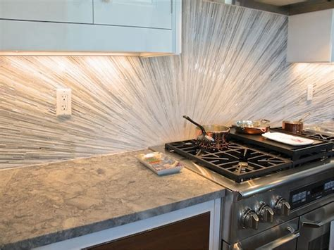 Modern Backsplash Tiles : 5 Modern And Sparkling Backsplash Tile Ideas