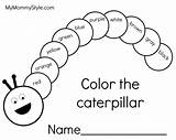Caterpillar Coloring Pages sketch template