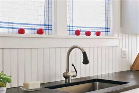 wainscoting kitchen backsplash how to install a solid surface backsplash this house
