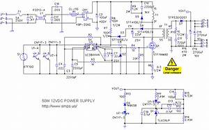 Power Supply Schematic 12v