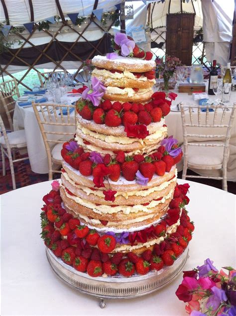 images  naked cakes  pinterest