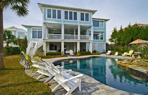 oceanfront cottage rentals a tybee time ga
