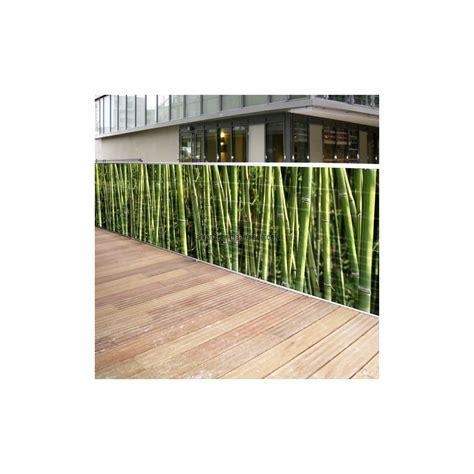 brise vue toile brise vue toile 3 m bambous