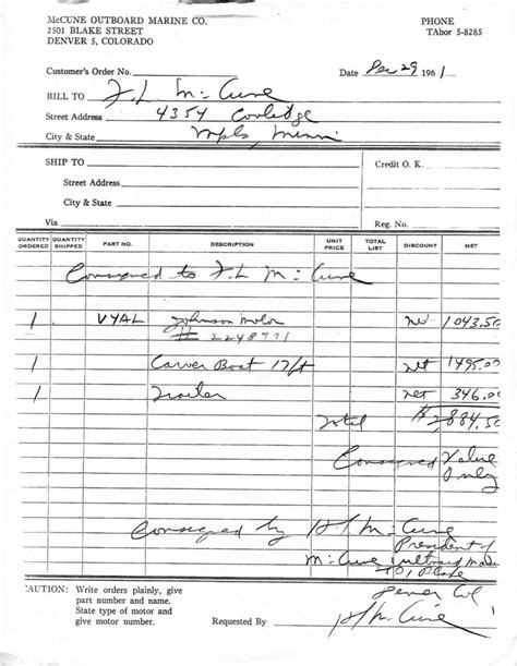 Boat Bill Of Sale Mn by They Re Only Original Once 1961 Carver Commuter 18