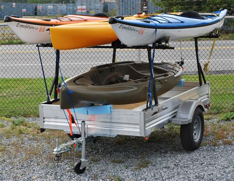 kayak rack for trailer pimping my trailer pics need ideas hearth forums