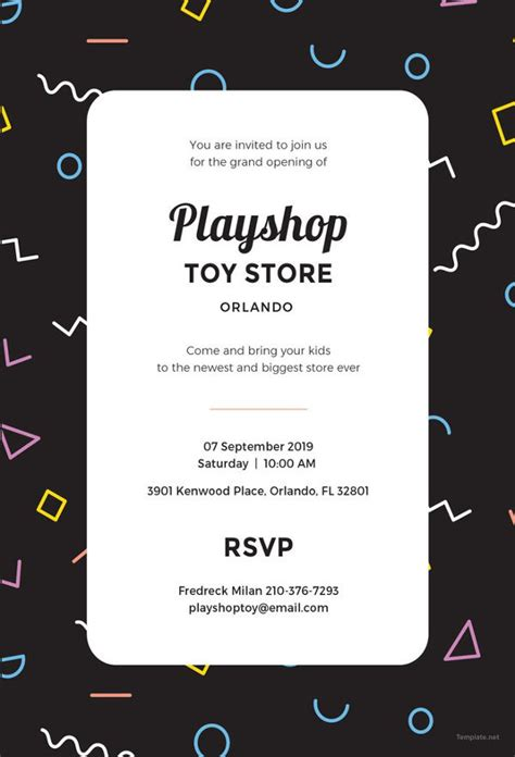 amazing psd event invitation templates designs