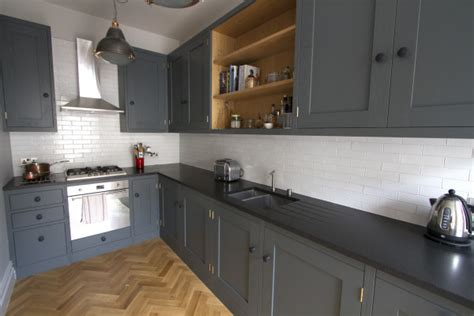 grey kitchen cabinets with granite countertops black granite countertops luxurious look for kitchens 8360