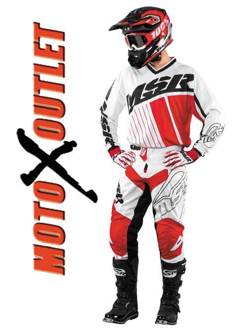 motocross gear ebay 2017 msr axxis red white motocross racing gear pants
