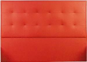 Tete De Lit Rouge : t te de lit capitonn e tudor aspect autruche rouge 180 mobilier ~ Teatrodelosmanantiales.com Idées de Décoration