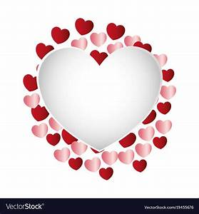 Hearts, And, Love, Frame, Royalty, Free, Vector, Image