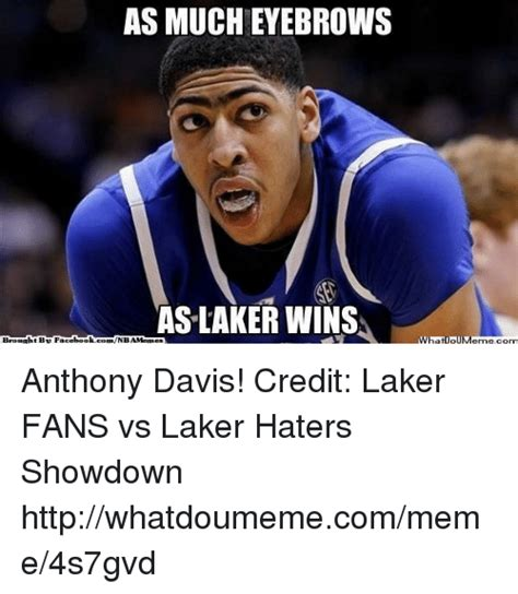 Laker Hater Memes - 25 best memes about eyebrows eyebrows memes