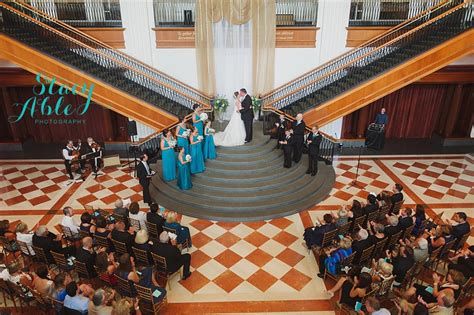 Indiana Historical Society Wedding with Detail and Design