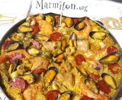 ustensiles cuisine paëlla fruits de mer chorizo et poulet de patou recette de paëlla fruits de mer chorizo et